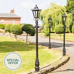 2.3m Victorian Lamp Post