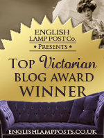 English Lamp Posts Top Victorian Blog Award Winner 2011