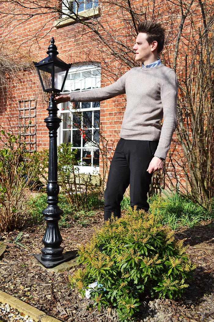 1.7 Victorian miniature lamp post