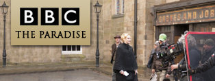 As seen on BBC the Paradise on set production lighting
