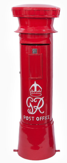 hand crafted post boxes