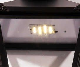 LED panel for wall lights and lanterns
