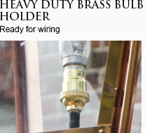 Brass Bulb Holder
