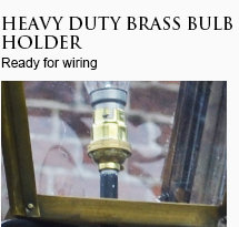 Brass Bulb Holder