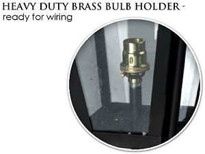 Heavy duty lantern bulb holder