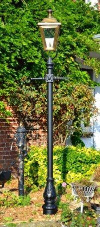 Lamp Post in front garden