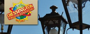 gothic lanterns as seen at chessington theme park
