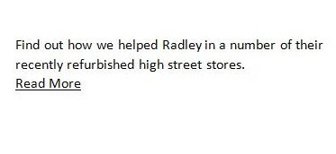 radley high street stores refurbish